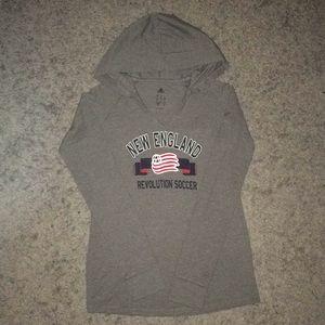 Adidas Lightweight Sweater w/ Hoodie